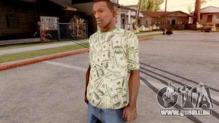 T-Shirt Dollar Style für GTA San Andreas