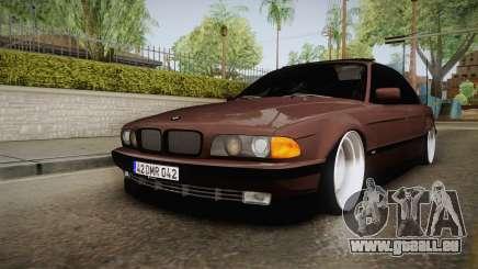 BMW 730i E38 Danker pour GTA San Andreas