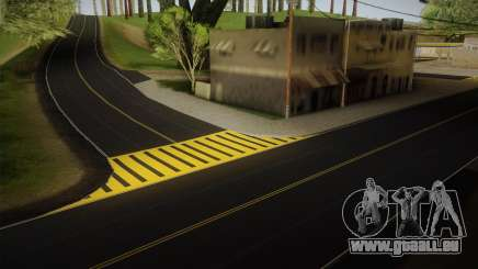 8K Country Road Textures pour GTA San Andreas