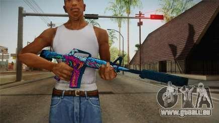 CS:GO - M4A1-S Hyper Beast für GTA San Andreas