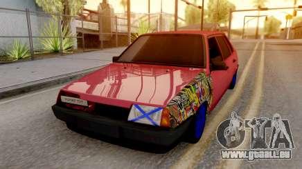 VAZ 21099 BlackOnyx für GTA San Andreas