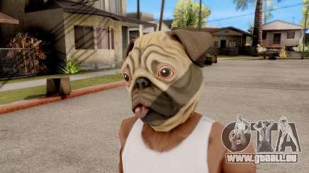 Masque De Chien De Roquet pour GTA San Andreas