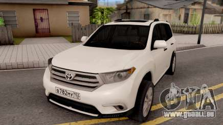 Toyota Highlander pour GTA San Andreas