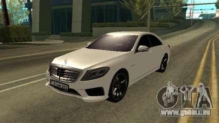 Mercedes-Benz S63 AMG Armenian pour GTA San Andreas