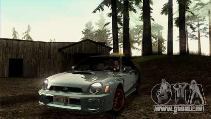 2001 Subaru Impreza WRX v 1.1 IVF [Tunable] pour GTA San Andreas