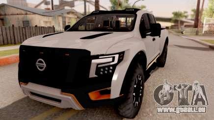 Nissan Titan Warrior 2017 für GTA San Andreas