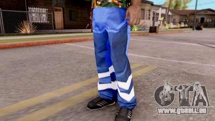 Pantalon bleu pour GTA San Andreas