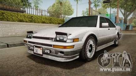 GTA 4 Dinka Hakumai Tuned Bumpers SA Style pour GTA San Andreas