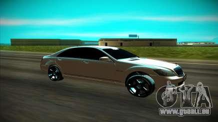 Mercedes-Benz W221 für GTA San Andreas