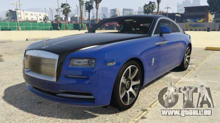 Rolls-Royce Wraith 1.1 für GTA 5