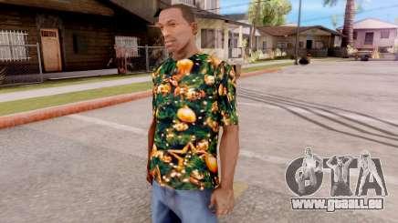 Weihnachts-t-shirt für GTA San Andreas