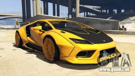 Pegassi Tempesta Custom pour GTA 5