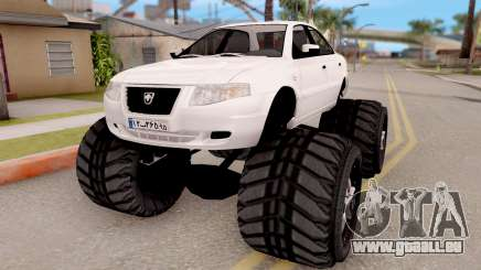 IKCO Samand Soren Monster pour GTA San Andreas