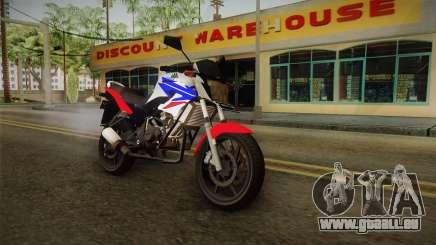 Honda CB150R StreetFire pour GTA San Andreas