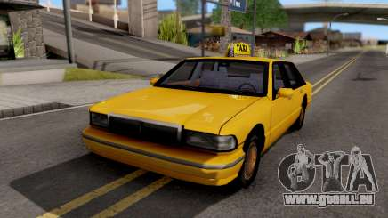 Taxi New Texture für GTA San Andreas