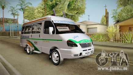 GAZelle 3221 Cointrasur pour GTA San Andreas