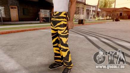 Tiger pantalon pour GTA San Andreas