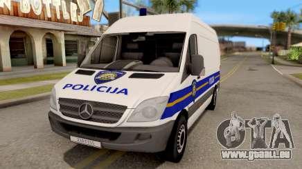 Mercedes-Benz Sprinter Croatian Police Van für GTA San Andreas