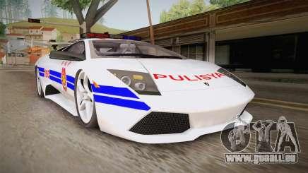 Lamborghini Murcielago P640 Bulacan Police pour GTA San Andreas
