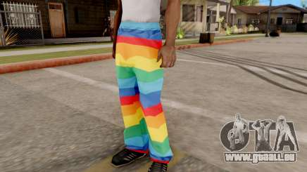 Pantalon irisé pour GTA San Andreas