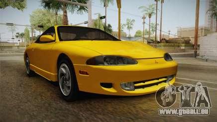 Mitsubishi Eclipse GSX 1995 HQLM für GTA San Andreas