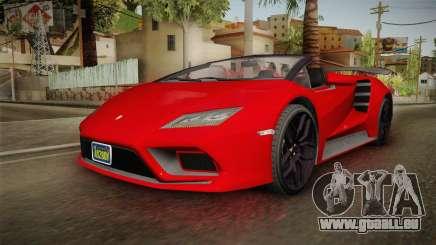 GTA 5 Pegassi Tempesta Spyder für GTA San Andreas