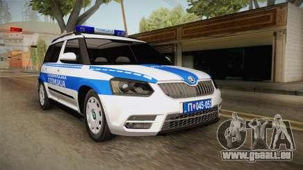 Skoda Yeti Serbian Traffic Police für GTA San Andreas