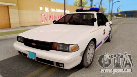 Vapid Stanier Hometown PD 2008 für GTA San Andreas
