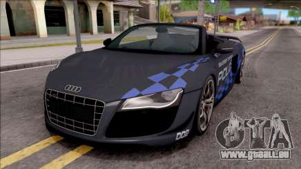 Audi R8 High Speed Police pour GTA San Andreas