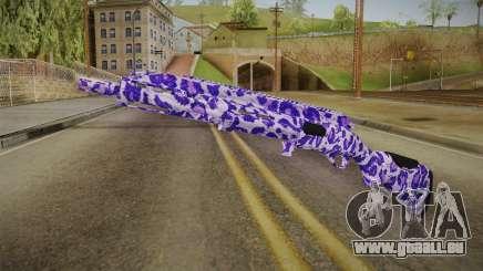 Tiger Violet Shotgun 1 für GTA San Andreas