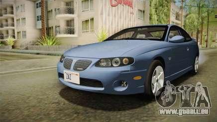Pontiac GTO Tunable für GTA San Andreas