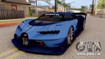 Bugatti Vision GT pour GTA San Andreas