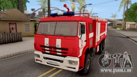 KamAZ-6520 Feuer-AC-40 für GTA San Andreas