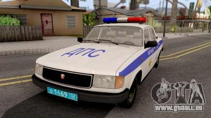 GAZ-31029 DPS de la Police pour GTA San Andreas