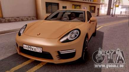 Porsche Panamera GTS 2012 pour GTA San Andreas