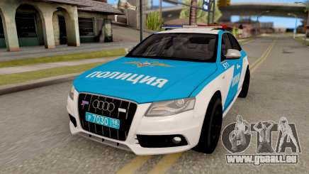Audi S4 Russian Police pour GTA San Andreas
