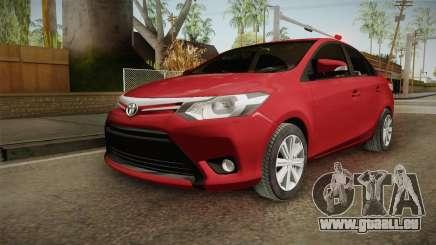 Toyota Yaris 2016 pour GTA San Andreas