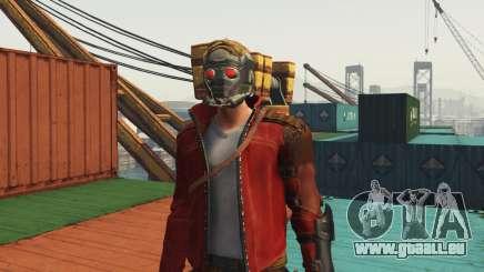 GOTG Star-lord pour GTA 5