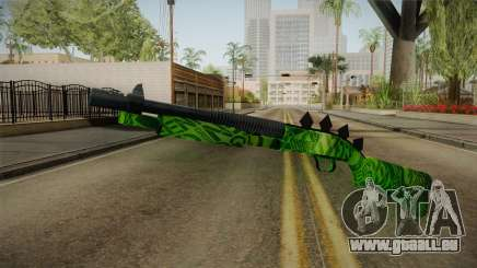Green Escopeta für GTA San Andreas