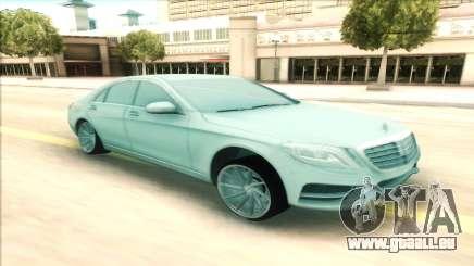 Mercedes-Benz S63 W222 pour GTA San Andreas