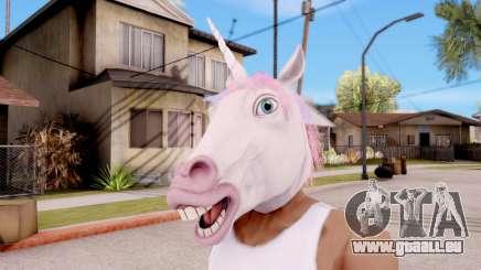 Masque De Licorne pour GTA San Andreas