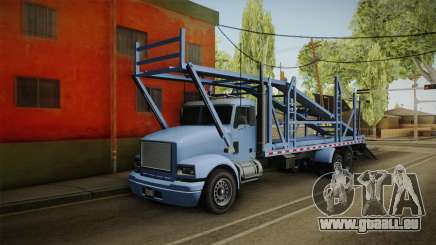 GTA 5 MTL Car Hauler SA Style pour GTA San Andreas
