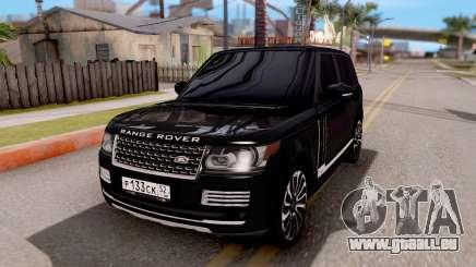 Range Rover SVA für GTA San Andreas