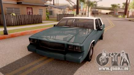 Tahoma Limited Edition pour GTA San Andreas