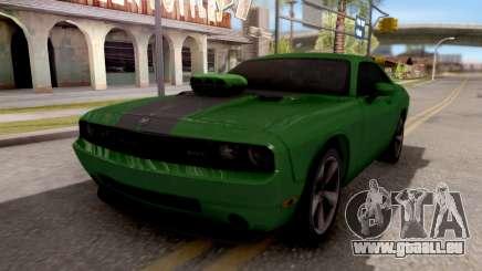Dodge Challenger SRT-8 2010 Ben 10 Alien Swarm pour GTA San Andreas