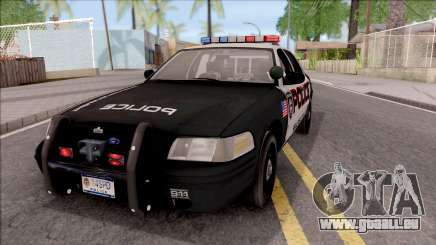 Ford Crown Vitoria High Speed Police pour GTA San Andreas