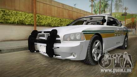 Dodge Charger 2009 Red County Sheriff Office pour GTA San Andreas