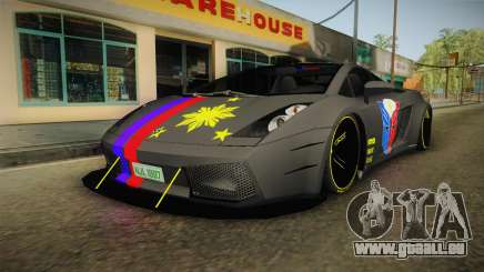 Lamborghini Gallardo Philippines pour GTA San Andreas