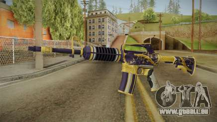 CS:GO - M4A1-S Gold Coil No Silencer pour GTA San Andreas