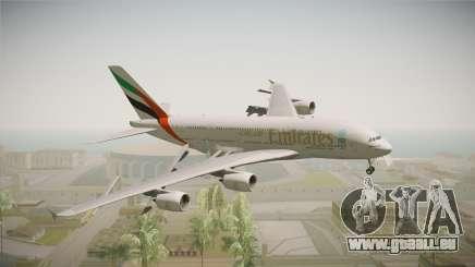 Airbus A380 Emirates Expo 2020 Dubai pour GTA San Andreas